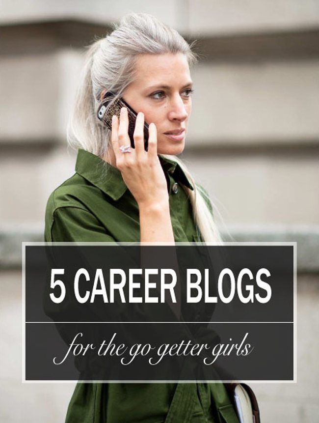 5 Career Blogs for the go getter girl, millennial women, career blogs, young women