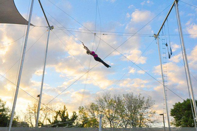 trapeeze, activities