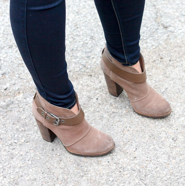 BCBG Paris ankle boots for the winter