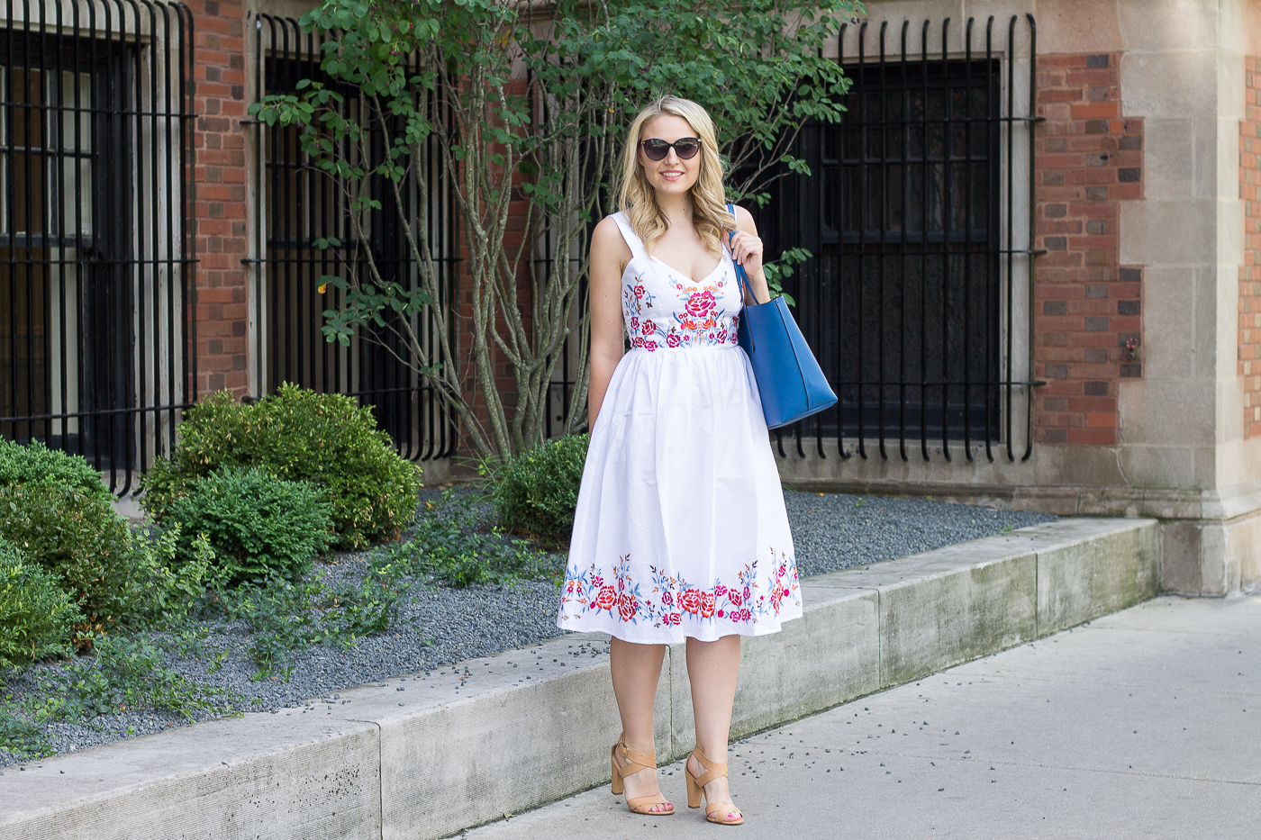 Why you should own a white midi dress for summer