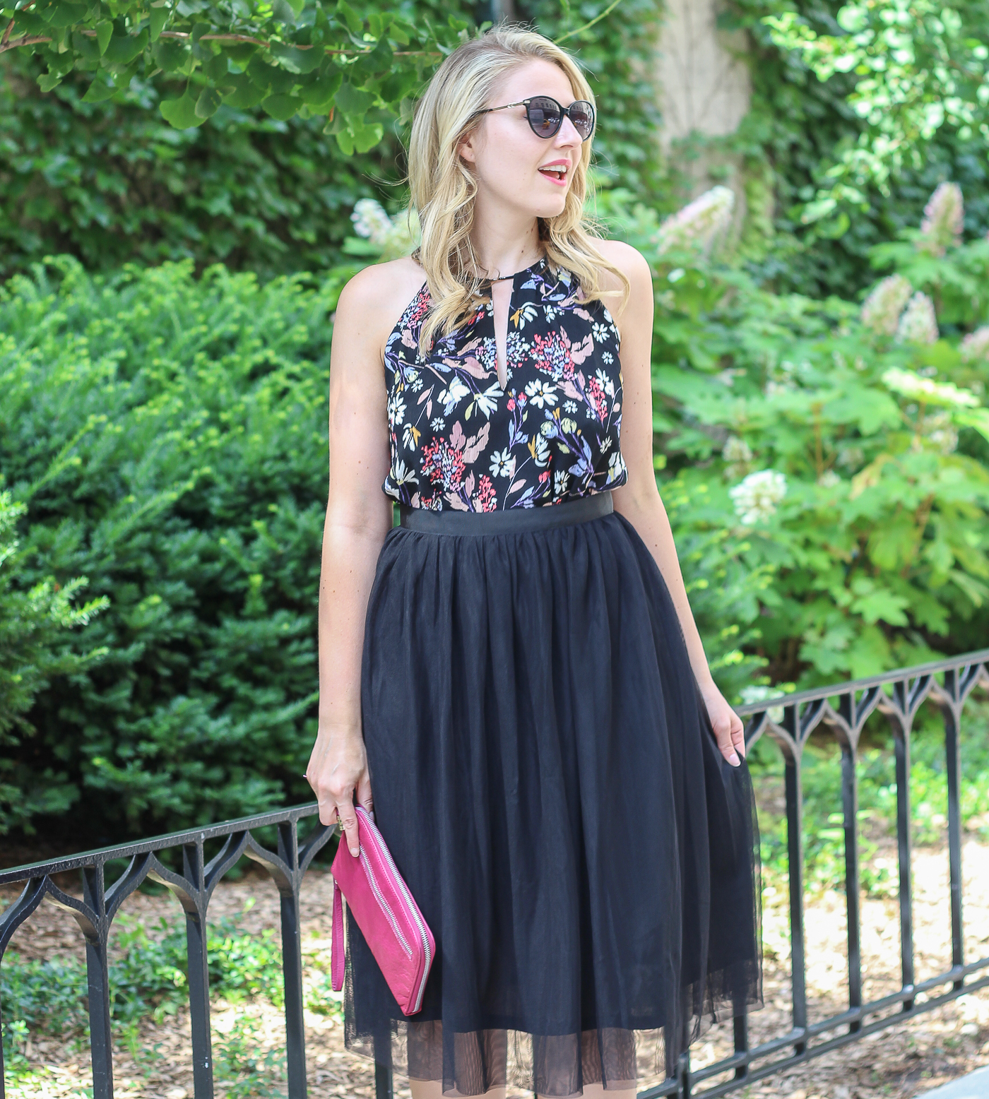 How to wear a tulle skirt in the summer