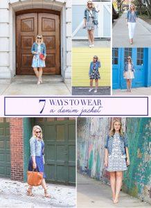 7 Ways to Wear a Denim Jacket