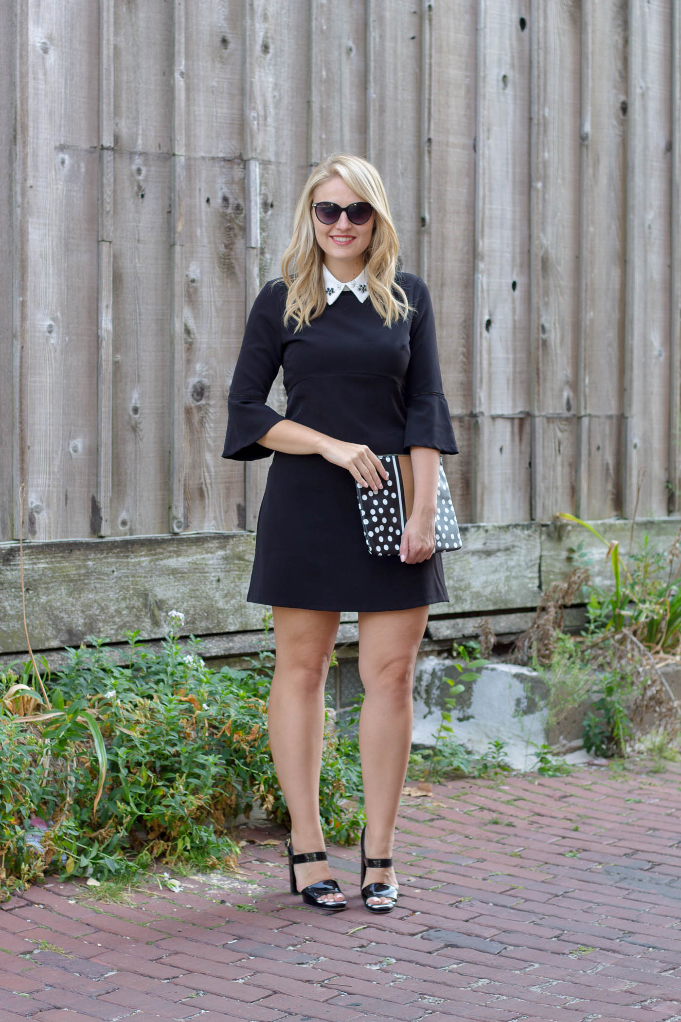 How to style a black dress this fall