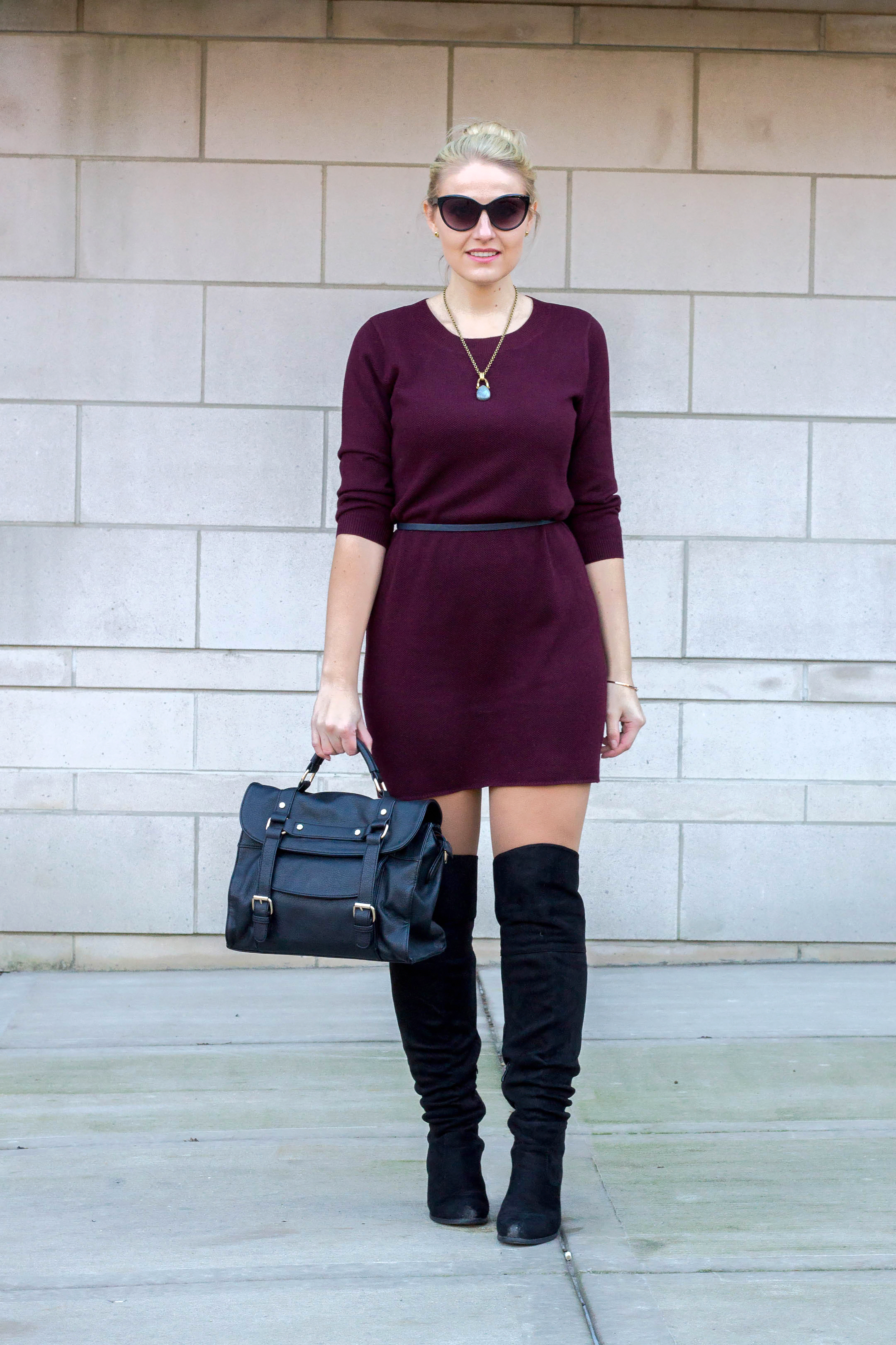The perfect sweater dress from BB Dakota for under $100