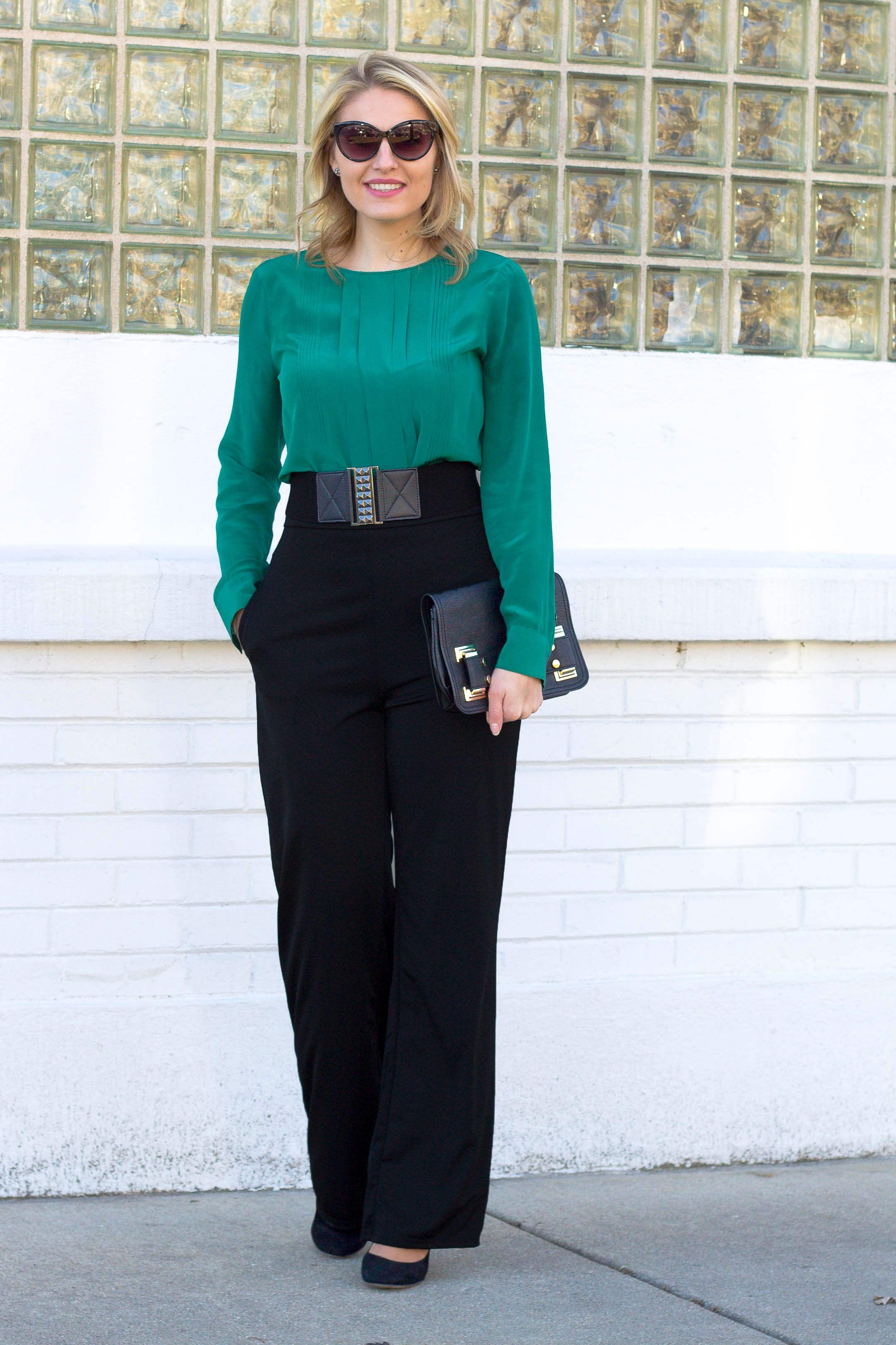 High waisted dress pants for pear shaped women