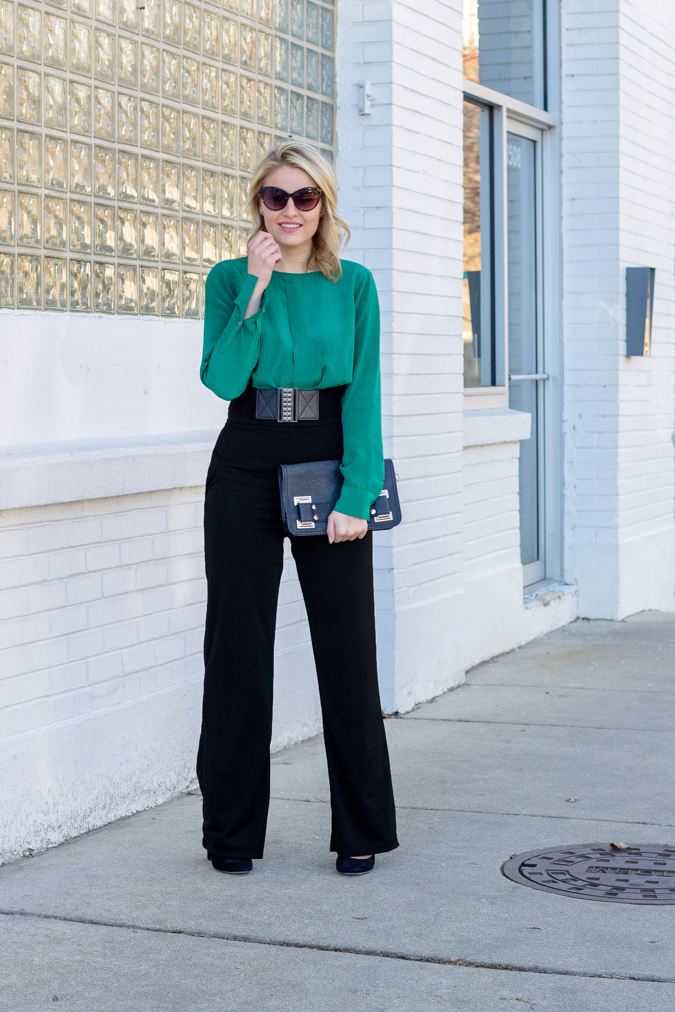 Why every woman should own high waisted dress pants