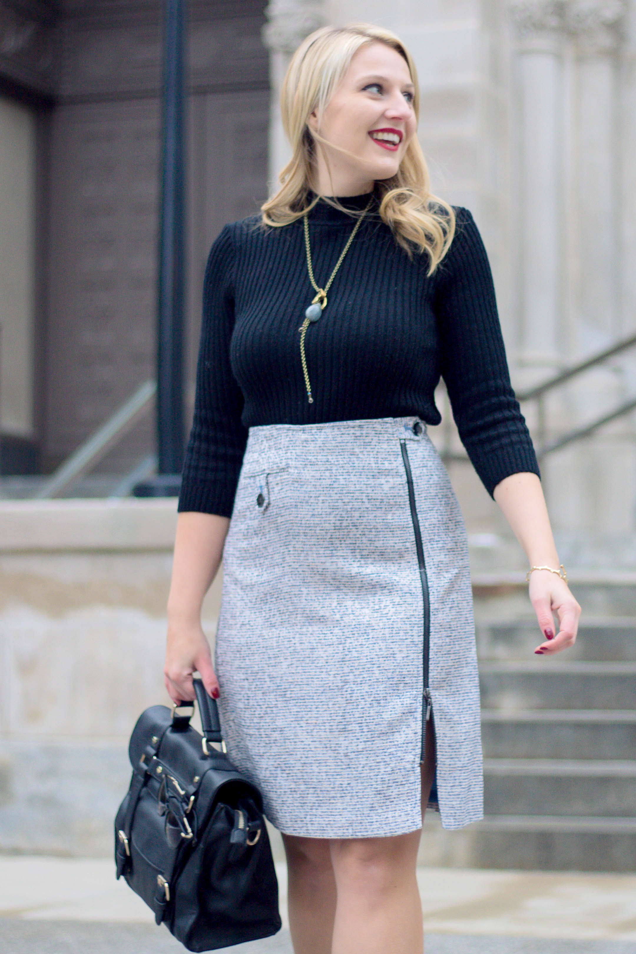 Why you should own a tweed skirt