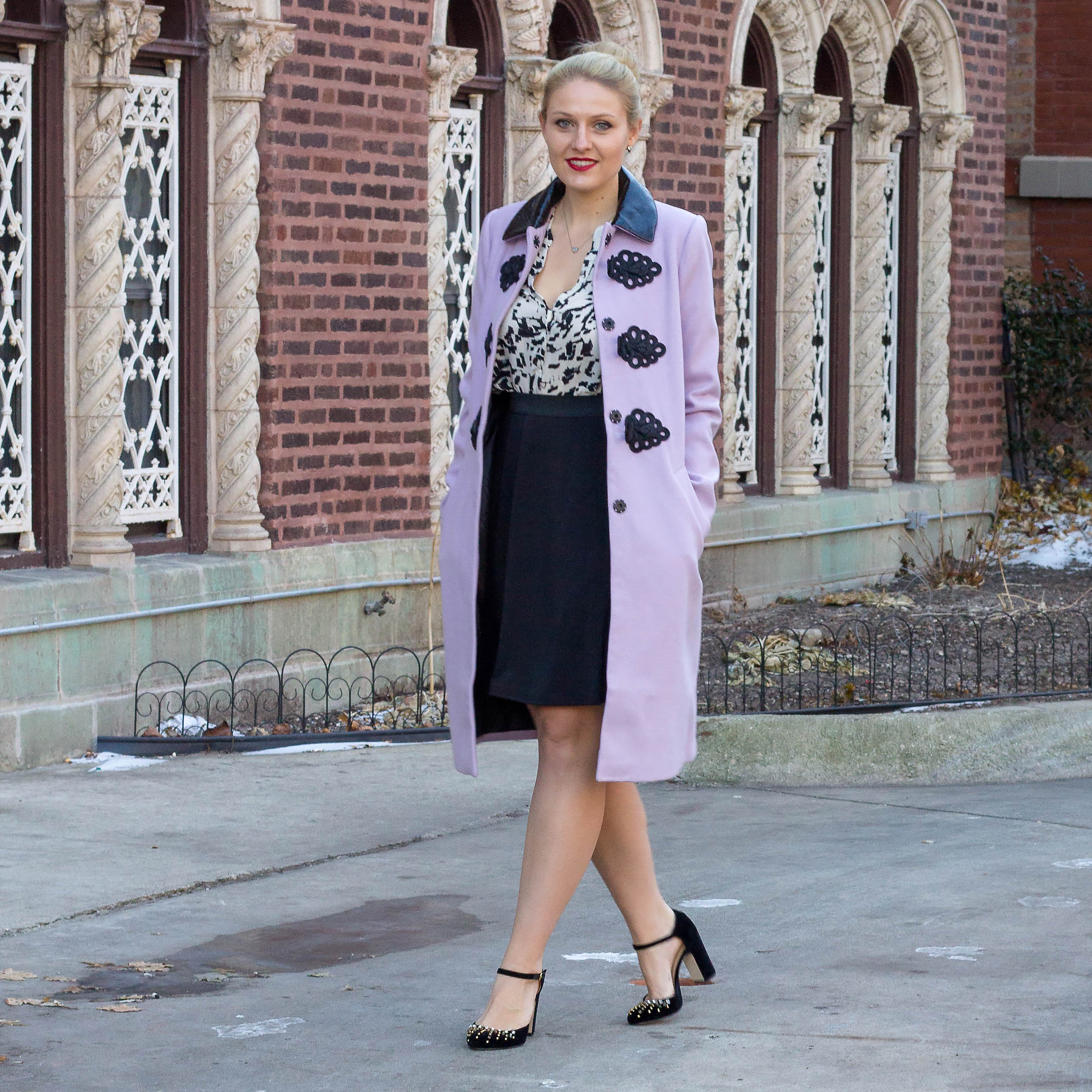 How to wear pantone's color of the year, lilac to the office