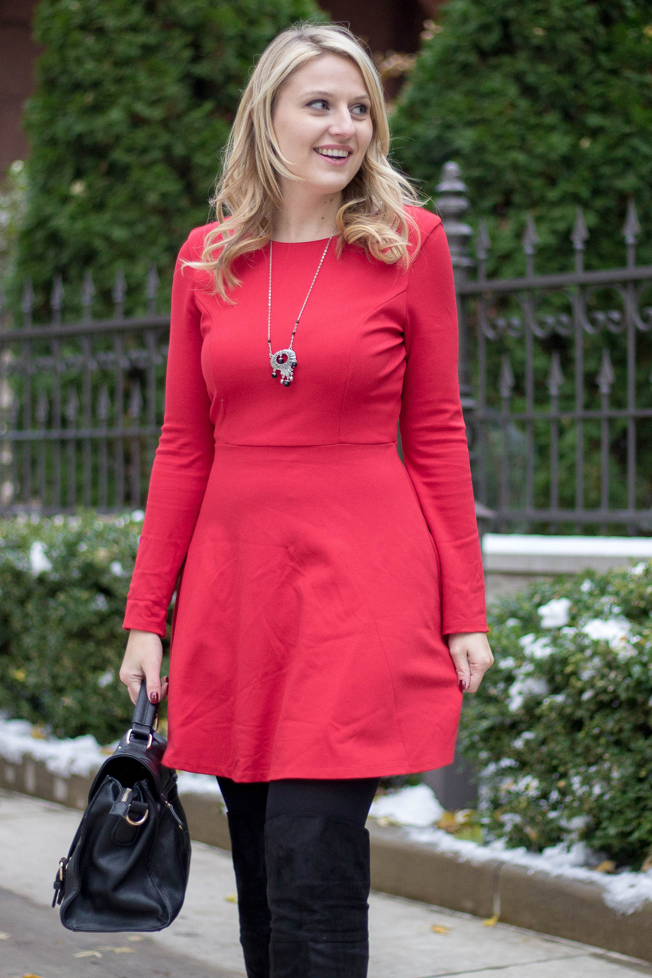 A long sleeve dress for under $100
