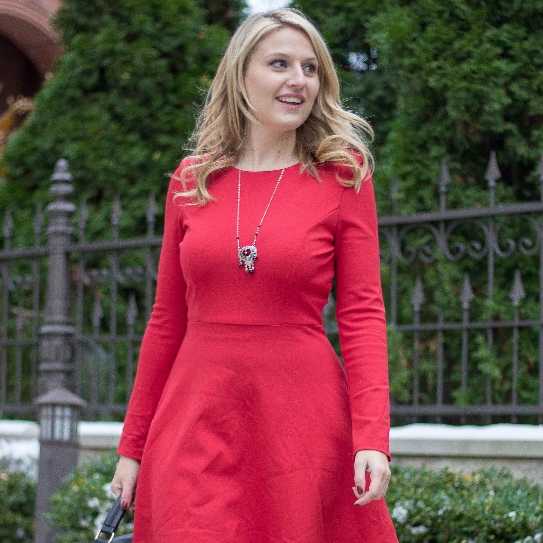 A long sleeve dress for the winter