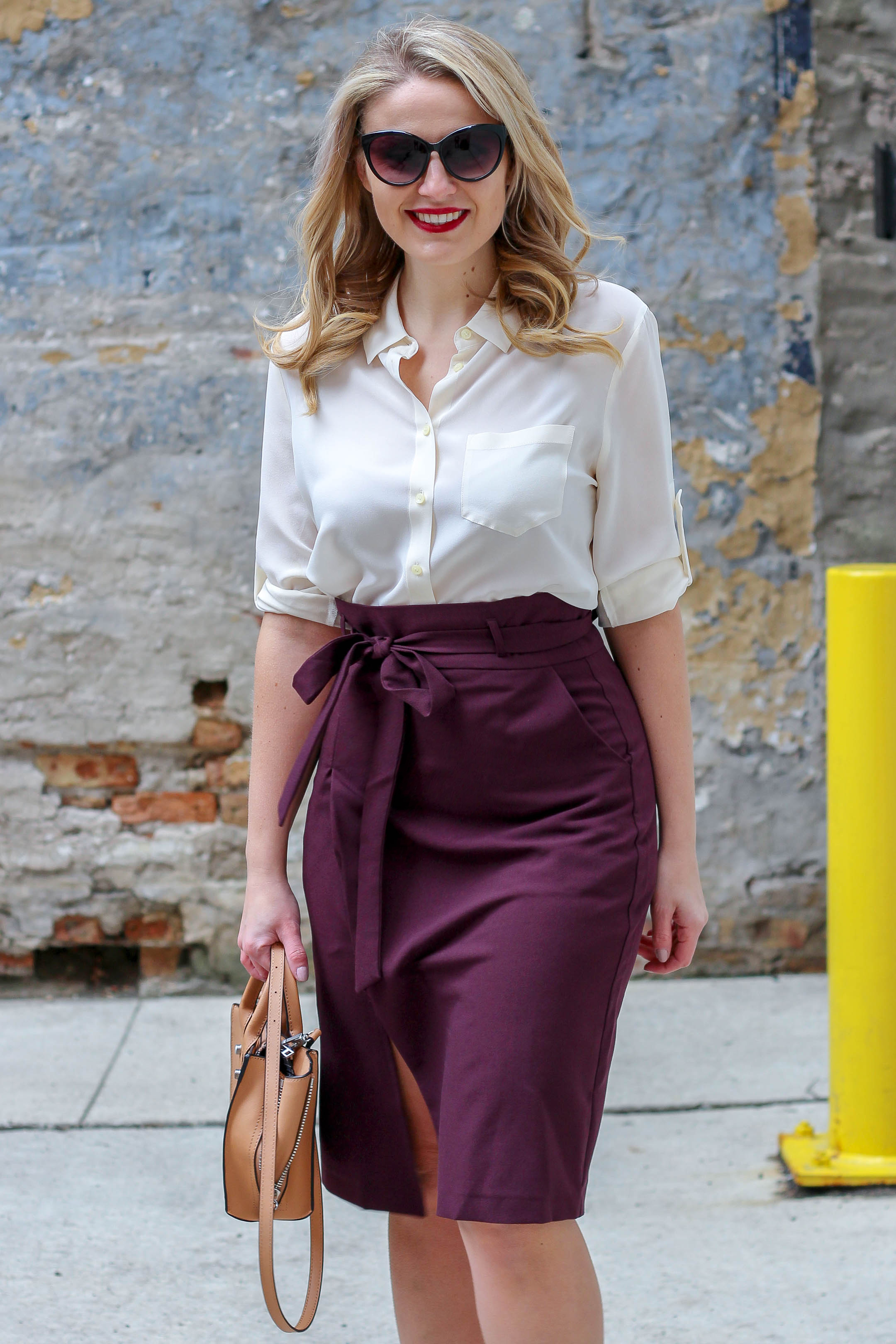 Why the paperbag skirt trend is perfect for the corporate office