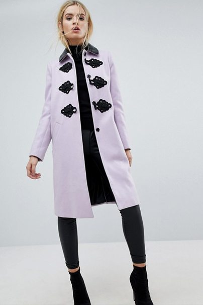 Winter Wardrobe Staples: Lilac Coat