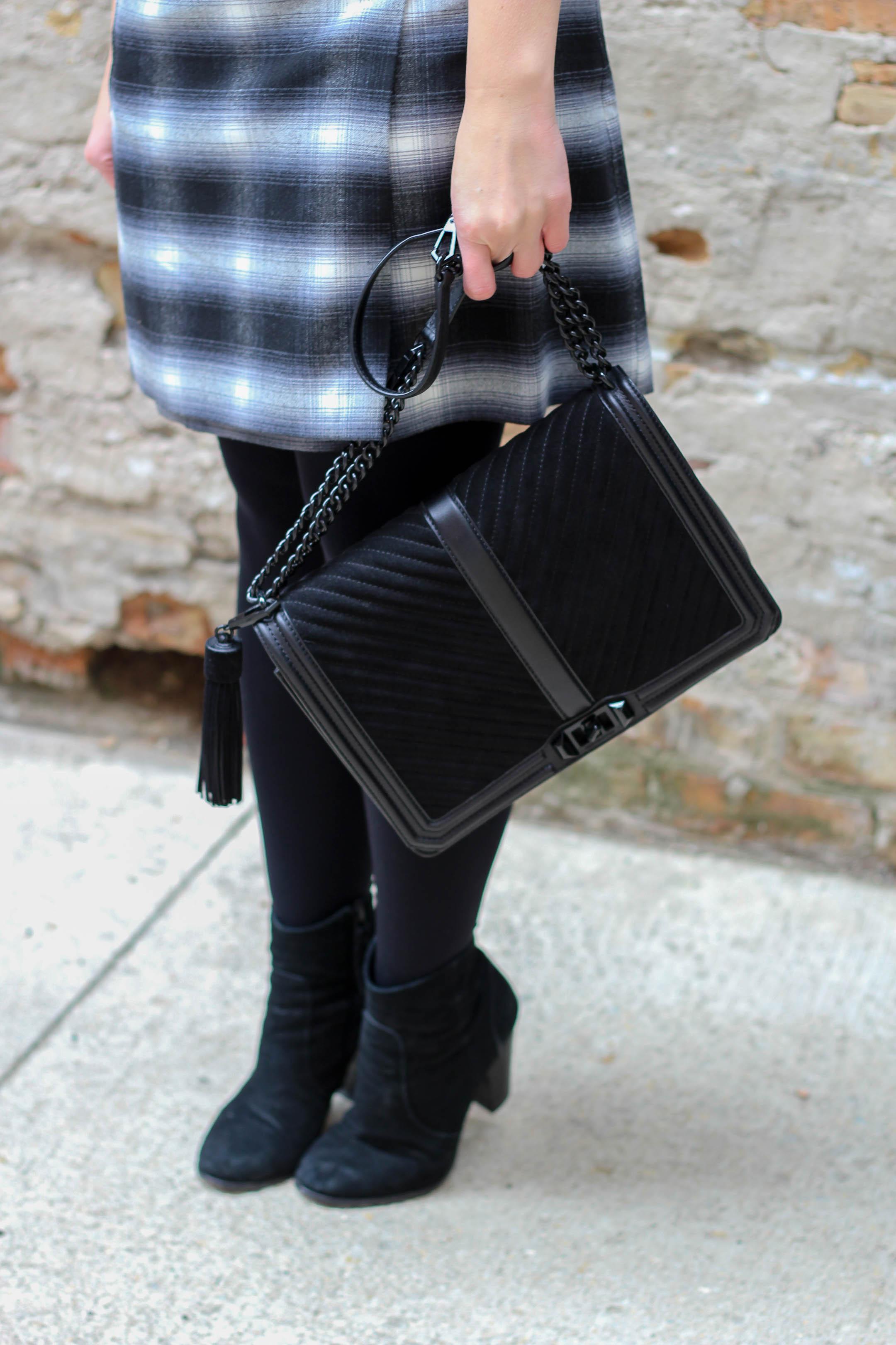 Rebecca Minkoff Chevron Quilted Slim Love Cross Body Bag