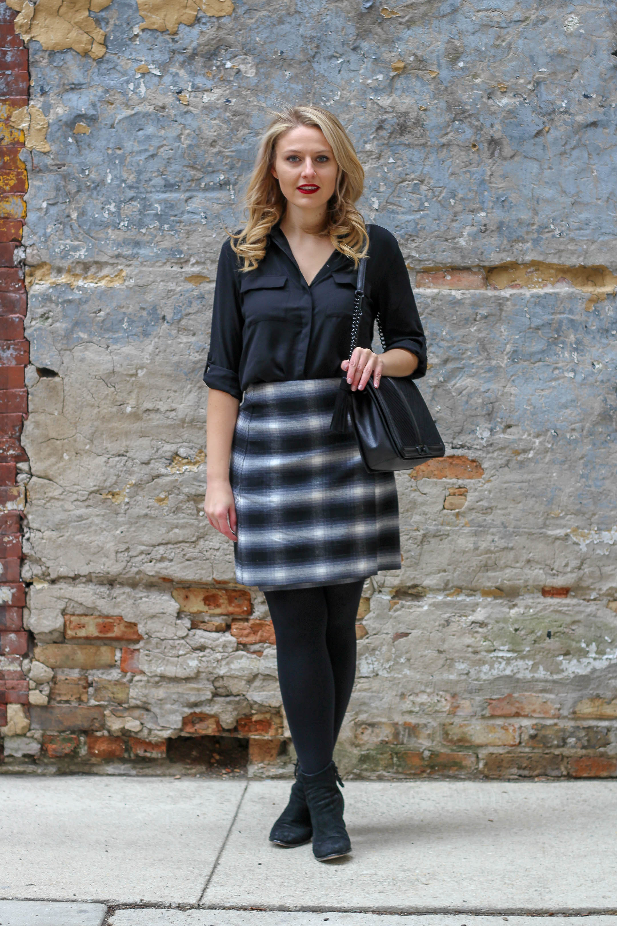 A perfectly plaid skirt from LOFT for only $30