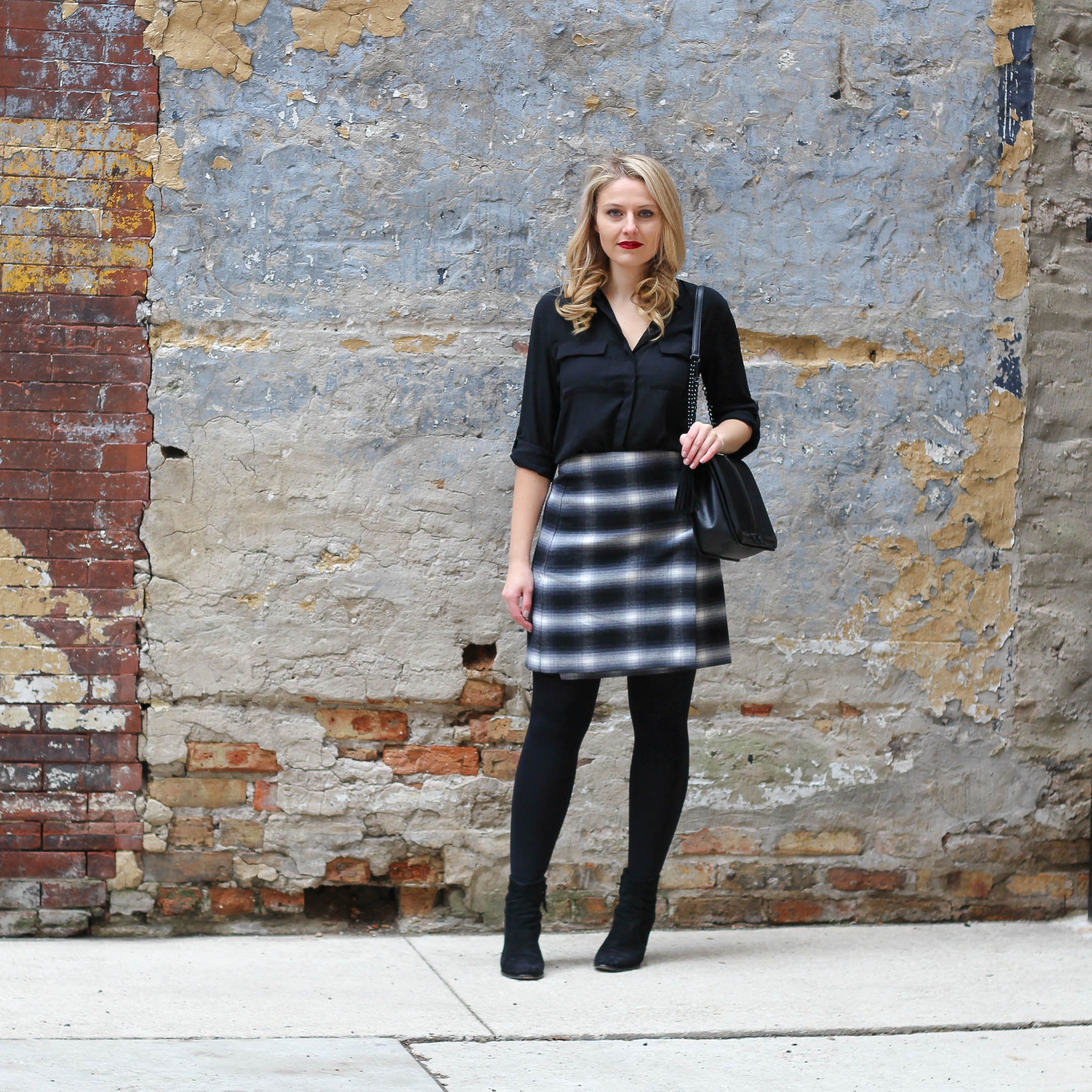 Why this plaid skirt will be your most versatile winter to spring wardrobe item