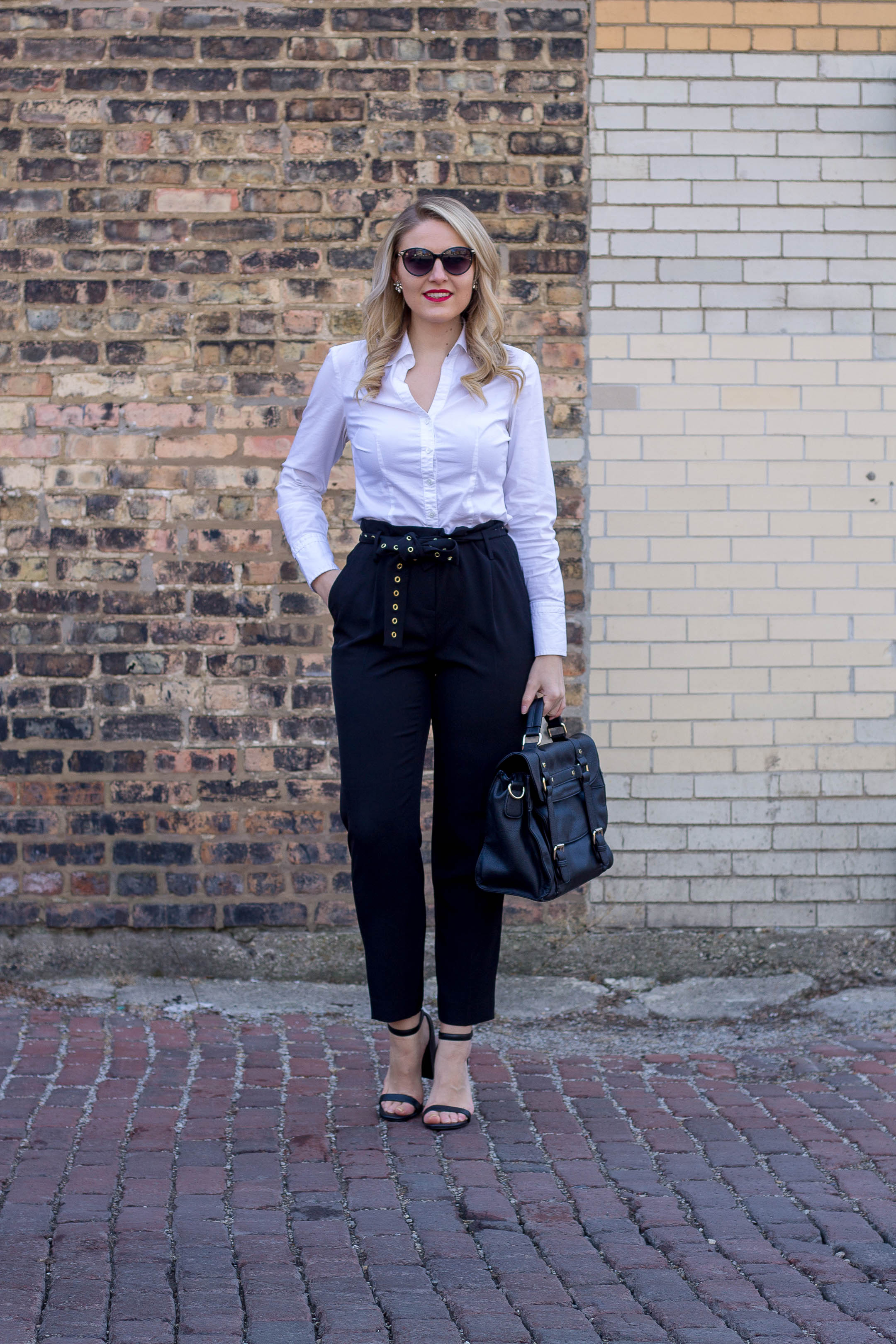 How to wear cropped pants to the office