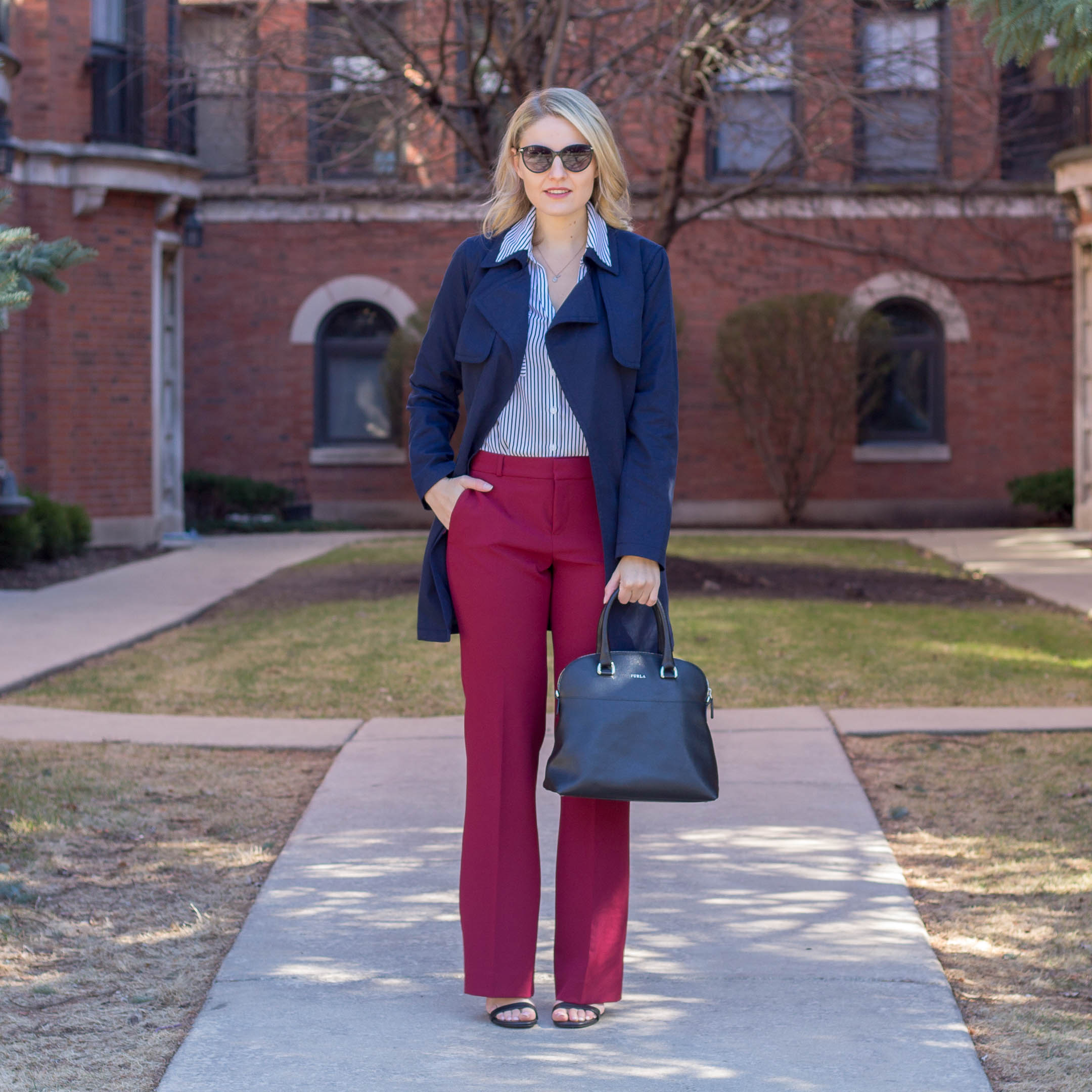 Why red, white, and blue will be your go to spring staples
