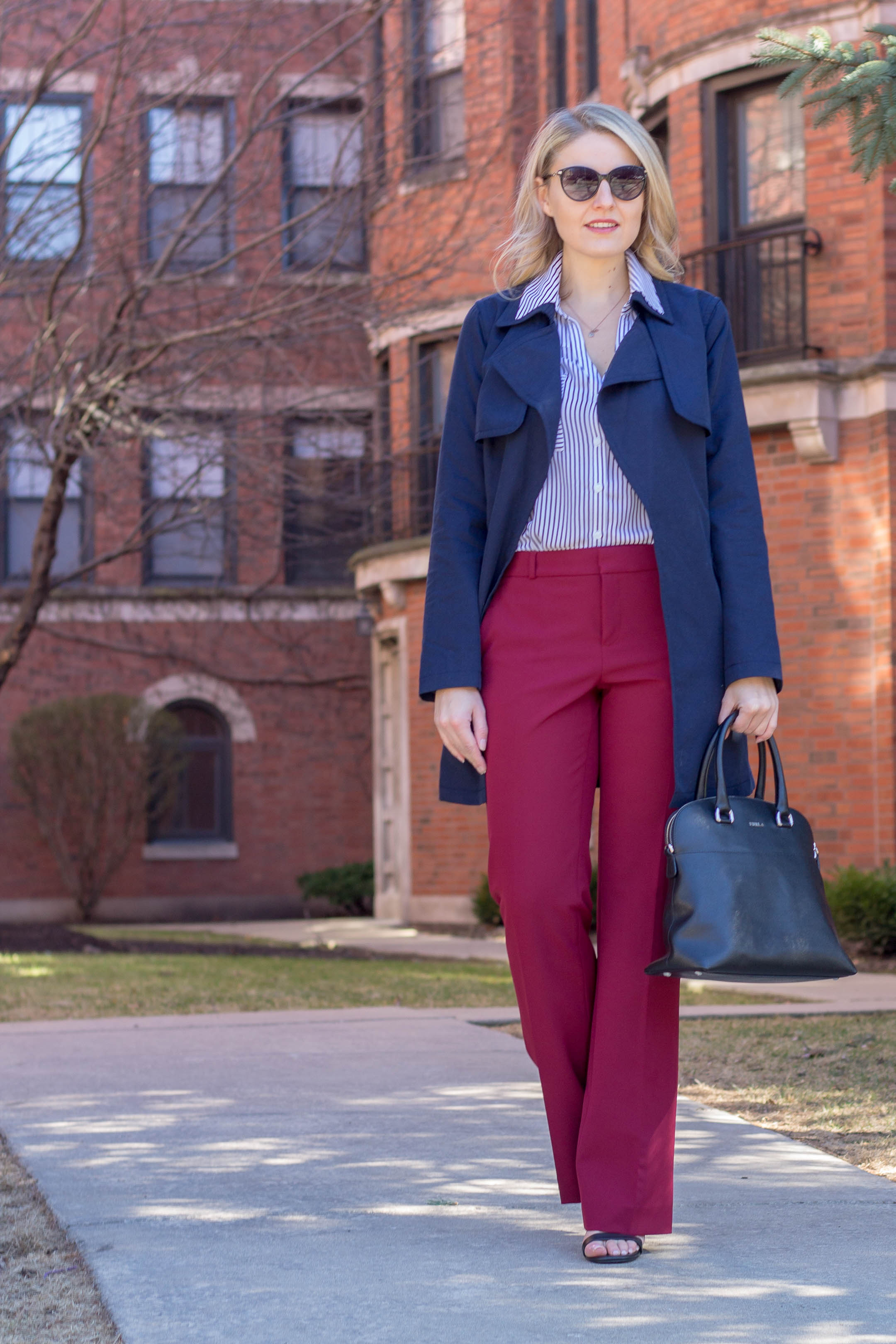 A banana republic cotton trench will be your new spring staple