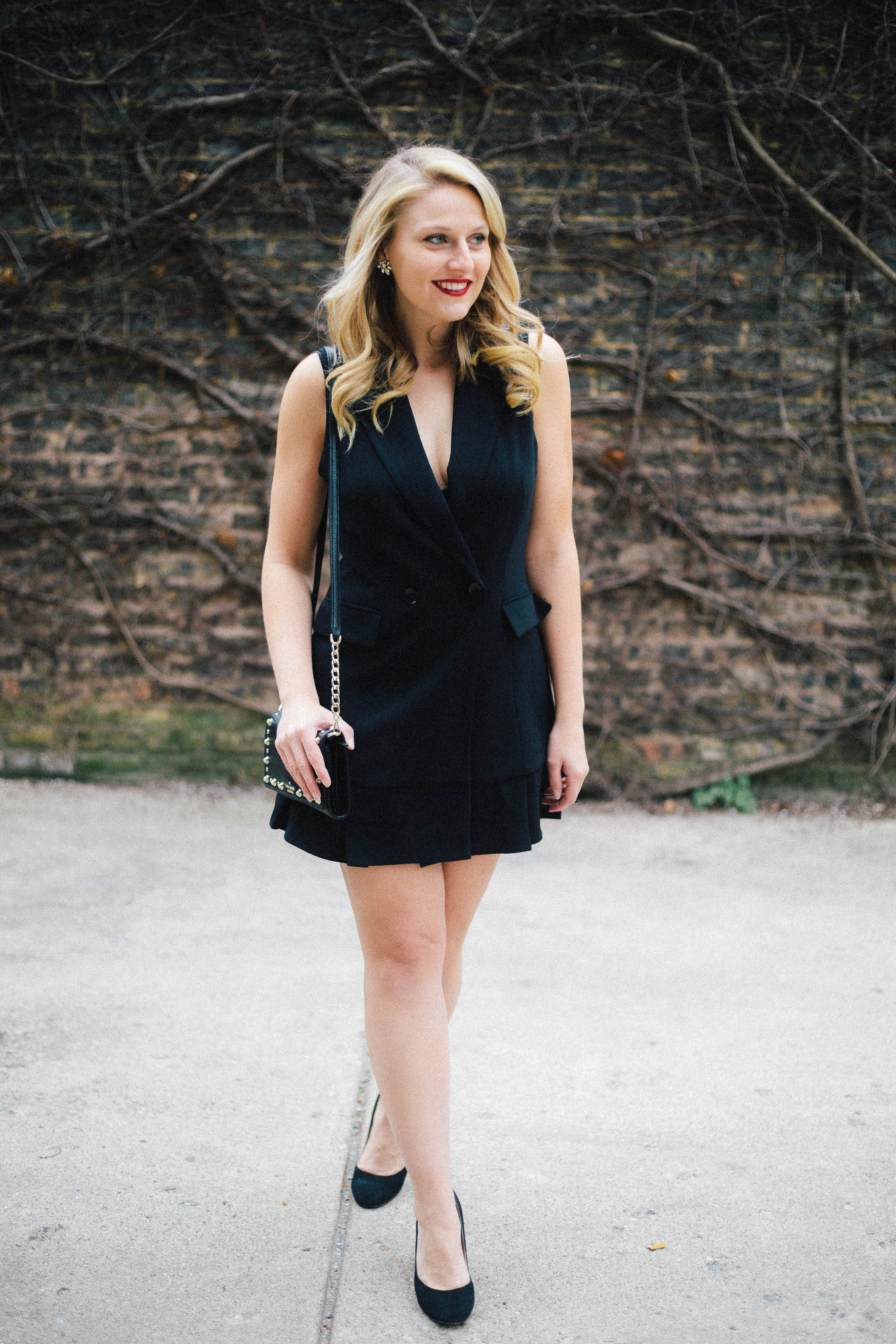 Every woman needs a black blazer dress this year