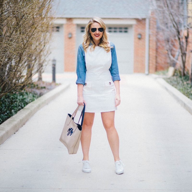 Double Duty // The Overall Dress